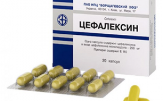 Цефалексин: инструкция по применению, цена, отзывы и аналоги