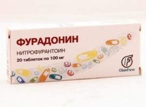 Фурадонин детям: инструкция по применению при цистите, дозировка препарата