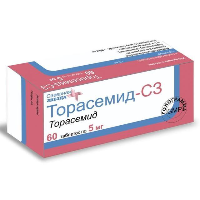 Торасемид мочегонный препарат