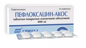 Пефлоксацин: инструкция по применению, аналоги, цена, отзывы