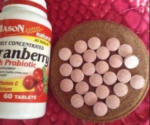 Экстракт клюквы в таблетках: инструкция к применению и отзывы