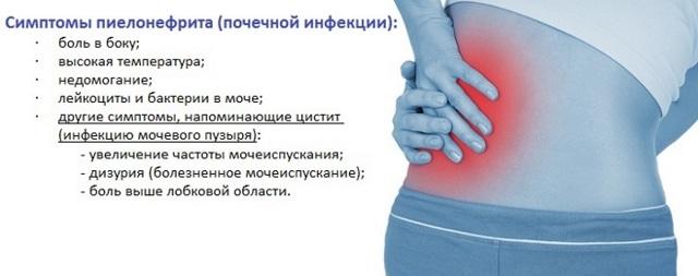 Температура при пиелонефрите и без нее: причины, стадии и лечение