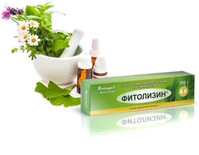 Фитолизин при цистите: как действует, применение для лечения и профилактики, цена