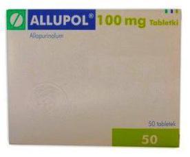 Аллопуринол: инструкция по применению, цена, отзывы и аналоги