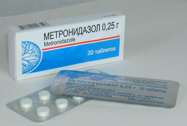 Метронидазол при воспалении мочевого пузыря
